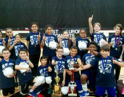 Fred Rodgers Magnet Academy wins volleyball tournament