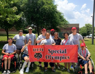 Students participate in Special Olympics Summer State Games